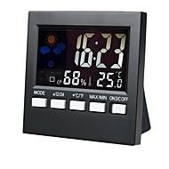 billiga Väckarklockor-Väckarklocka LED Plastik Automatisk uppvridning 1 pcs
