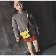 baratos Bolsas de Ombro-Mulheres Bolsas PU Bolsa de Ombro Ziper / Cor Única Vermelho / Rosa / Amarelo