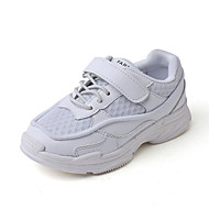 baratos Sapatos de Menino-Para Meninos Sapatos Com Transparência Outono & inverno Conforto Tênis Caminhada Presilha para Infantil Branco / Preto / Vermelho