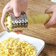 tanie Akcesoria kuchenne-Narzędzia kuchenne Nierdzewny Najwyższa jakość / Kreatywny gadżet kuchenny Ręczny / Narzędzia Kukurydza 1 szt.