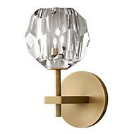billige Vegglamper-Krystall Moderne / Nutidig Vegglamper Soverom Metall Vegglampe 220-240V 40 W