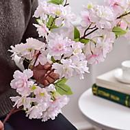 billige Kunstige blomster-Kunstige blomster 1 Gren Klassisk Moderne / Nutidig / Enkel Stil Evige blomster Gulvblomst