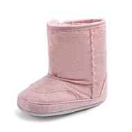 baratos Sapatos de Menino-Para Meninos / Para Meninas Sapatos Algodão Inverno / Outono & inverno Sapatos de Berço / Botas de Neve Botas Velcro para Bebê Rosa claro / Azul Claro / Khaki / Festas & Noite