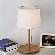 billige Lamper-Moderne / Nutidig Bordlampe Til Soverom / Leserom / Kontor Tre / Bambus 220-240V Svart / Gul
