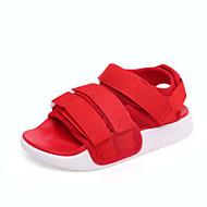 baratos Sapatos de Menino-Para Meninos / Para Meninas Sapatos Lona Verão Conforto Sandálias Velcro para Infantil Verde / Azul / Rosa claro