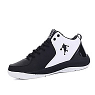 baratos Sapatos Masculinos-Homens Couro Ecológico Primavera Conforto Tênis Basquete Branco / Preto / Preto / Vermelho / Black / azul