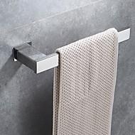 מתלה מגבת עיצוב חדש / מגניב עכשווי פלדת אל חלד / ברזל 1pc 1-מגבת בר מותקן על הקיר