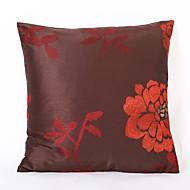 Χαμηλού Κόστους Σετ μαξιλαριών-1 τεμ Πολυεστέρας Μαξιλαροθήκη, Λουλούδι / Στολισμένο&Κεντητό / Φλοράλ Μοντέρνο / Σύγχρονο / Ποιμενικό