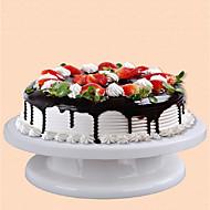 billige Bakeredskap-kake dekorere lettvekt solid kake skivebord diy dekorere med ring kake maker