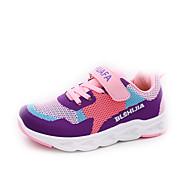 baratos Sapatos de Menina-Para Meninas Sapatos Couro Ecológico Outono & inverno Conforto Tênis Caminhada Presilha para Adolescente Preto / Rosa claro