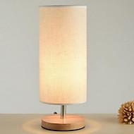 billige Lamper-Moderne / Nutidig Bordlampe Til Soverom Tre / Bambus 220-240V Hvit / Gul