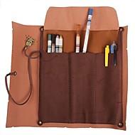 billiga Köksförvaring-retro vintage pirat rullar upp läder väska penna penna fallet skattkarta