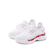 baratos Sapatos de Menino-Para Meninos / Para Meninas Sapatos Com Transparência Verão Conforto Tênis Caminhada Pregueado para Infantil Branco / Preto