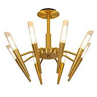 billige Takbelysning og vifter-LWD 8-Light Candle-stil / Sputnik / Cone Lysekroner Kreativ, Nytt Design, Tre, 110-120V / 220-240V Pære ikke Inkludert