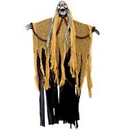 baratos -Decorações de férias Decorações de Halloween Halloween Entertaining Decorativa Amarelo Escuro 1pç