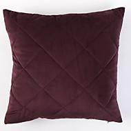 tanie Zestawy poduszki-1 szt Poliester Pokrowiec na poduszkę, Solidne kolory / Klasyczny Prosty / Klasyczny