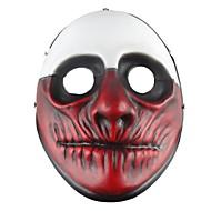 baratos -Decorações de férias Decorações de Halloween Máscaras de Dia das Bruxas / Halloween Entertaining Decorativa / Legal Vermelho Escuro 1pç