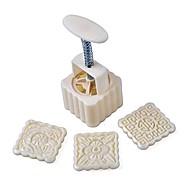 billige Bakeredskap-Bakeware verktøy Plast / Metall Kul / Multifunktion Kake Rund / Kvadrat Cake Moulds 16pcs
