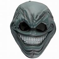 baratos -Decorações de férias Decorações de Halloween Máscaras de Dia das Bruxas Festa / Legal Prata / Bege / Cinzento 1pç