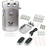 billige Intelligente låser-WAFU WF-018U Plastikker / Sinklegering Intelligent Lås Smart hjemme sikkerhet iOS / Android System Lavt batteri påminnelse / Innendørs låsfunksjon Hjem / Hjem / kontor / Soveværelse (Lås opp modus