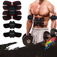 tanie Sprzęt i akcesoria fitness-Stymulator mięśni brzucha / Trener Abs EMS Z 6 pcs 33 cm Średnica Skóra PU / Skóra poliuretanowa Elektroniczny, Nietoksyczne, Trening siłowy Wzmacnianie mięśni, Masaż, Budowa, modelowanie i