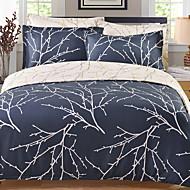 billige Moderne dynetrekk-Sengesett Striper / Foldet / Moderne Polyester Reaktivt Trykk 4 deler