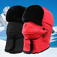 baratos Chapéus e Cachecóis-Esqui Crânio Caps / Máscara Facial Máscara de Esqui Boné de Trilha Homens / Mulheres A Prova de Vento / Á Prova-de-Chuva / Térmico / Quente Pranchas de Snowboard POLY Esqui / Ciclismo / Moto