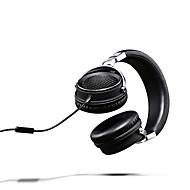 billiga Headsets och hörlurar-lasmex headband l-90 trådlösa / ljudutgång hörlurar hörlurar alumniumlegering / läderprovare audiohörlurar stereo / hifi-headset