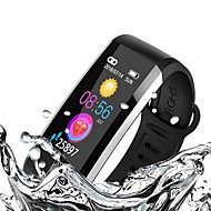 KUPENG WQ6 Unisex Smart Bracelet Smartwatch Android iOS Bluetooth GPS Sports Waterproof Heart Rate Monitor Blood Pressure Measurement Pedometer Call Reminder Activity Tracker Sleep Tracker Sedentary