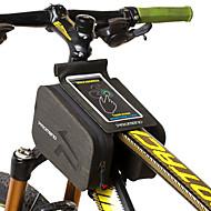 Χαμηλού Κόστους Κάλυμμα ποδηλάτου-Κινητό τηλέφωνο τσάντα / Τσάντα για τιμόνι ποδηλάτου 6 inch Ποδηλασία για Ποδηλασία Μαύρο