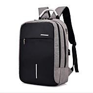 billige Computertasker-polyester Laptoptaske Solid Sort / Mørkegrå / Lysegrå