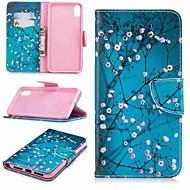 billiga Mobil cases & Skärmskydd-fodral Till Apple iPhone XR / iPhone XS Max Plånbok / Korthållare / med stativ Fodral Träd Hårt PU läder för iPhone XS / iPhone XR / iPhone XS Max