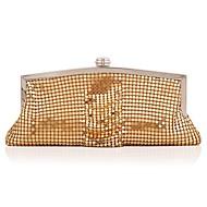 baratos Clutches & Bolsas de Noite-Mulheres Bolsas Liga Bolsa de Festa Lantejoulas / Botões Dourado