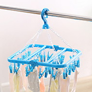 billige Lagring og oppbevaring-Plast / Aluminiumslegering thickening Sokker Hanger, 1pc