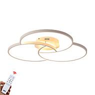 billige Udsalg-ZHISHU 3-Light Sputnik / Mini Takplafond Omgivelseslys Malte Finishes Aluminum Mulighet for demping 110-120V / 220-240V Dimbar med fjernkontroll LED lyskilde inkludert / Integrert LED