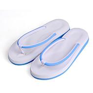 baratos Sapatos Femininos-Mulheres Sapatos Confortáveis Couro Ecológico Primavera Sandálias Sem Salto Preto / Azul / Rosa claro