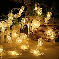 Χαμηλού Κόστους Φώτα LED-2,2 μέτρα Φώτα σε Κορδόνι 20 LEDs Θερμό Λευκό Λατρευτός / Απίθανο Μπαταρίες AA Powered 1pc