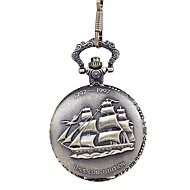 billige Lommeure-Herre Lommeure Quartz Afslappet Ur Sej Legering Bånd Analog Vintage Afslappet Bronze - Bronze