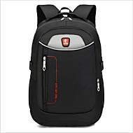 cheap High School Bags-Unisex Bags Nylon School Bag Zipper Black / Gray / Purple