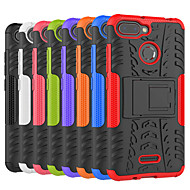 billiga Mobil cases & Skärmskydd-fodral Till Xiaomi Redmi 6 / Redmi 5A Stötsäker / med stativ Skal Tegel / Rustning Hårt PC för Redmi Note 5A / Xiaomi Redmi Note 4X / Xiaomi Redmi Note 4 / Xiaomi Redmi 4A