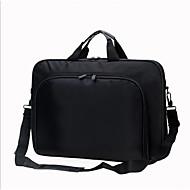 billige Computertasker-Nylon Laptoptaske Lynlås Sort