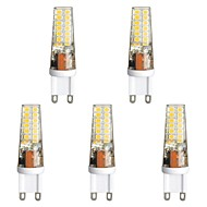 baratos Luzes LED de Dois Pinos-5pçs 3 W 300 lm G9 Luminárias de LED  Duplo-Pin T 28 Contas LED SMD 2835 Branco Quente / Branco 85-265 V
