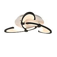billige Taklamper-OYLYW 3-Light Takplafond Omgivelseslys 110-120V / 220-240V, Varm Hvit / Hvit, LED lyskilde inkludert