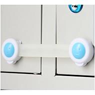 billige Lagring og oppbevaring-3 stk barnelås beskyttelse av barn låsedører for barns sikkerhet barn plast lås
