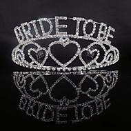 Κράμα Τιάρες με Κρυστάλλινη λεπτομέρεια 1 Τεμάχιο Γάμου / Ειδική Περίσταση Headpiece