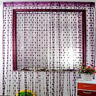 billige Gardiner ogdraperinger-Dørpanelet Gardiner Gardiner Entry & Mudroom Moderne Polyester Reaktivt Trykk