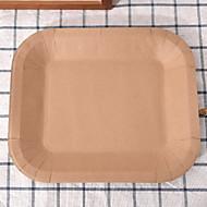 billiga Bordsservis-1 st Papper Kreativ / Häftig Flata tallrikar, servis