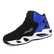 Ανδρικά Παπούτσια άνεσης PU Φθινόπωρο Αθλητικό Αθλητικά Παπούτσια Μπάσκετ Αναπνέει Μαύρο / Άσπρο / Μαύρο / Κόκκινο / Μαύρο / Μπλε