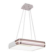 billige Takbelysning og vifter-Sirkelformet Anheng Lys Omgivelseslys Malte Finishes Metall Akryl Nytt Design AC100-240V Varm Hvit / Hvit LED lyskilde inkludert / Integrert LED