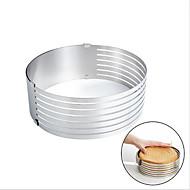 billige Bakeredskap-Bakeware verktøy Rustfritt Stål Kreativ Kjøkken Gadget Kake Rund Cake Moulds 1pc